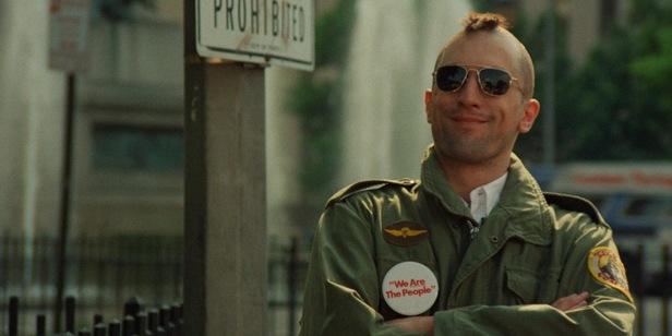 Роберт Де Ниро в роли таксиста