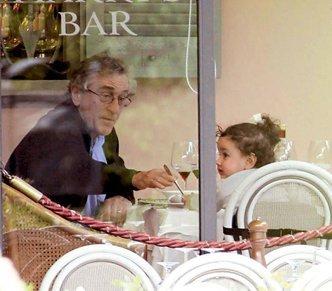 Роберт Де Ниро с дочкой